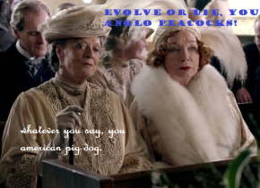 Some Quick Thoughts re: Downton Abbey + Heavyhandedness