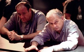 "James Gandolfini and David Chase's ""irregular"" AKA ADORABLE Eulogy"