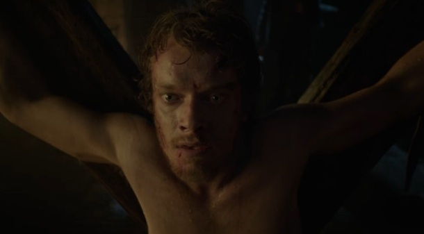 Waiting for Willie to pee is like waiting for Theon's storyline to go somewhere.