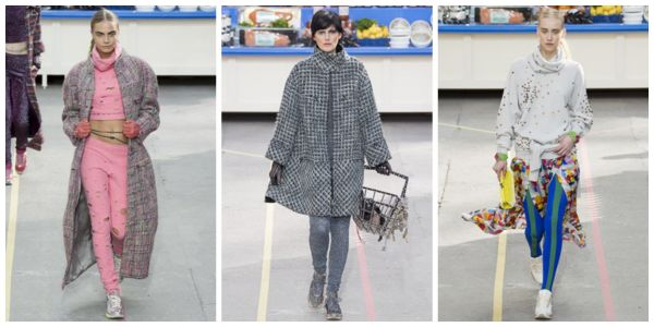 Chanel says: sneakers are so in.