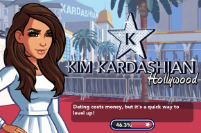 On Playing Kim Kardashian's New iPhone Game until She Made Me Stop